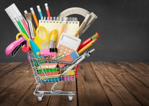 Education. Back to School Supplies Sale